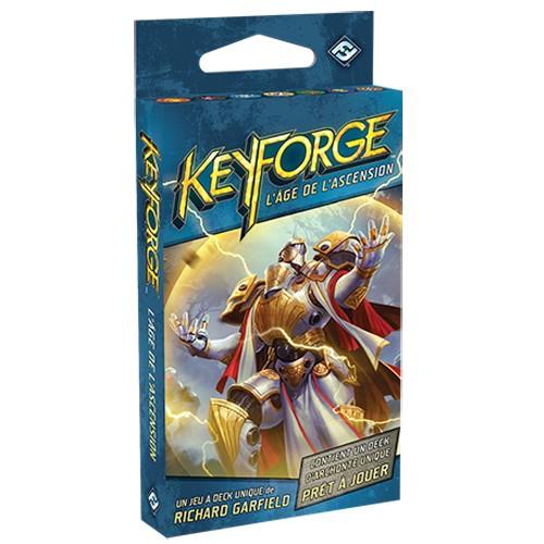 Keyforge Deck L'âge de l'ascension chez Robin des Jeux Paris