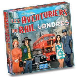 Aventuriers du rail Londres chez Robin des Jeux Paris