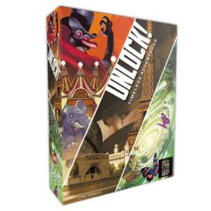 Unlock 6 Timeless Adventures chez Robin des Jeux Paris.