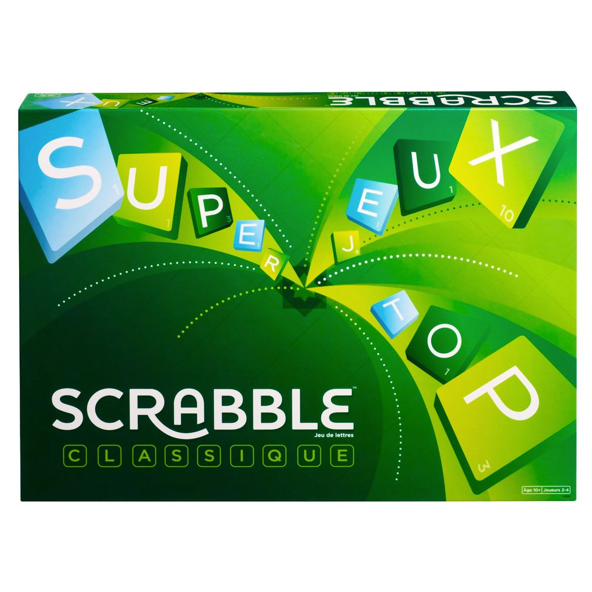 Acheter Scrabble à Paris chez Robin des Jeux