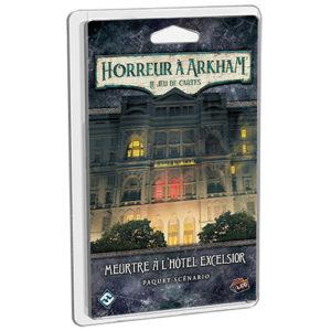 Horreur à Arkham JCE Meutre à l'hotel Excelsior à Paris chez Robin des Jeux.