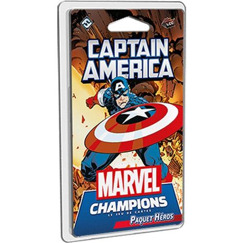 Marvel Champion Captain America à Paris chez Robin des Jeux