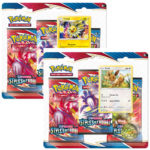 Pokemon pack 3 boosters à Paris chez Robin des Jeux