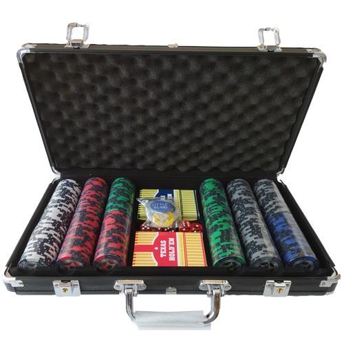 Acheter Malette poker 300 jetons Clay 14,5grs à Paris chez Robin des Jeux