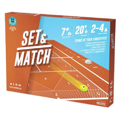 Acheter Set & Match à Paris chez Robin des Jeux