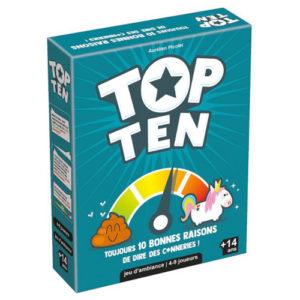 Acheter Top Ten à Paris chez Robin des Jeux