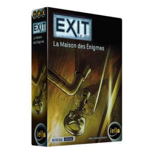 Exit la maison des énigmes à Paris chez Robin des Jeux
