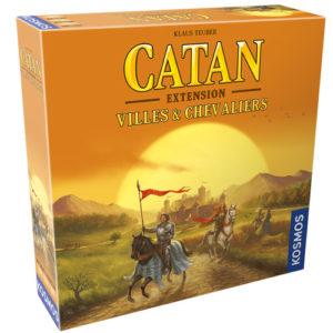 Acheter Catan Villes et chevaliers à Paris chez Robin des Jeux