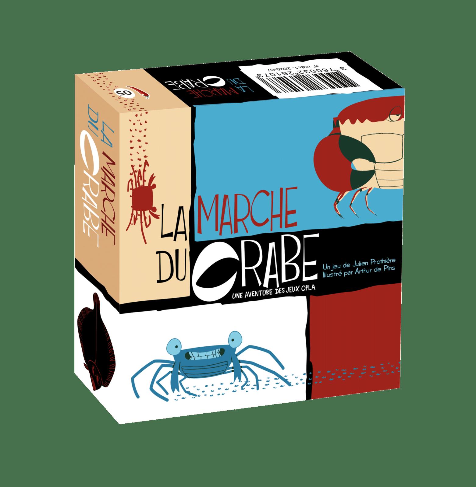 La Marche du Crabe à Paris chez Robin des Jeux