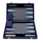 Backgammon prestige 30cm bleu