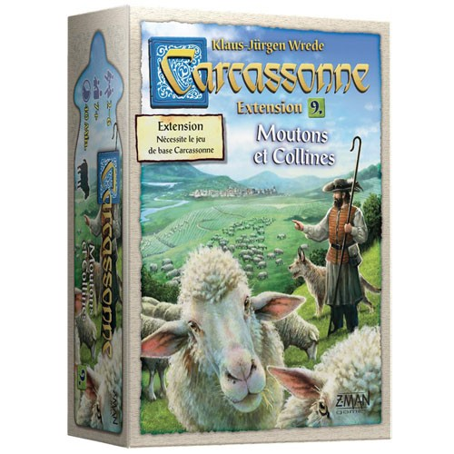 Acheter Carcassonne Moutons et Colline à Paris chez Robin des jeux