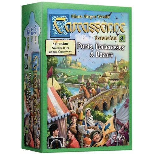 Acheter Carcassonne Ponts, Forteresses et Bazars à Paris chez Robin des jeux