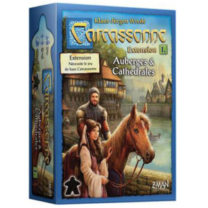 Acheter Carcassonne auberge et cathedrale à Paris chez Robin des Jeux