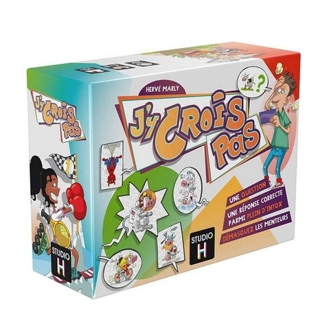 Acheter J'Y CROIS PAS à Paris chez Robin des Jeux