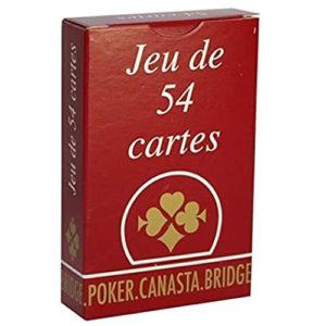 Acheter Jeu de 54 cartes à Paris chez Robin des Jeux