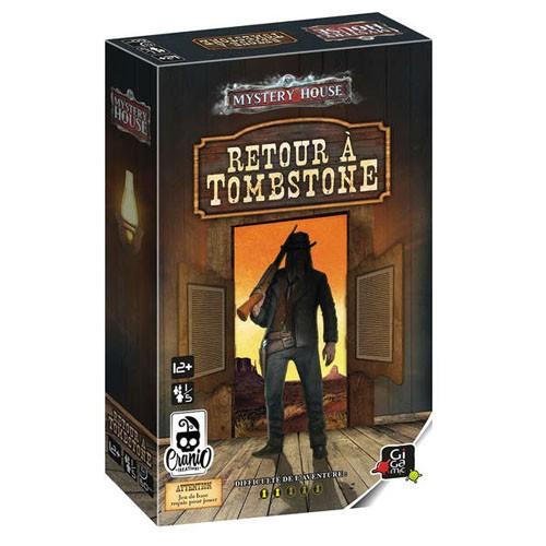 Acheter Mystery house retour à Tombstone à Paris chez Robin des Jeux