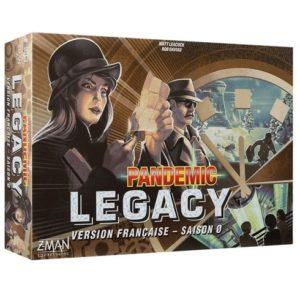Acheter PANDEMIC LEGACY SAISON 0 chez Robin des Jeux