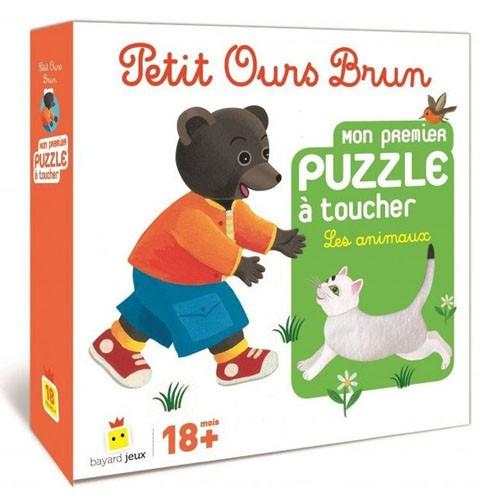 Acheter Petit ours brun puzzle à toucher