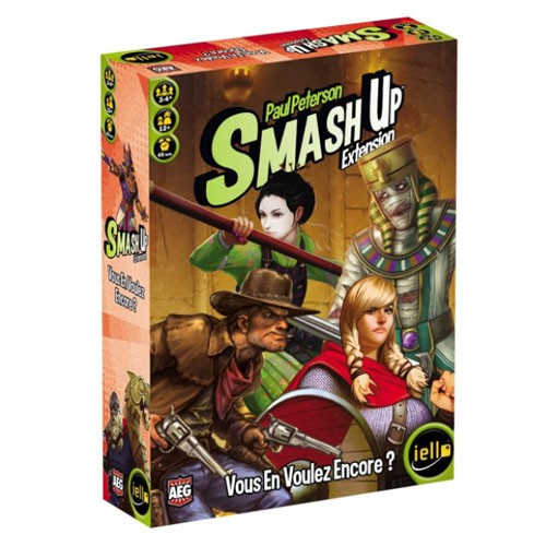 Acheter Smash up vous en voulez encore à Paris chez Robin des Jeux