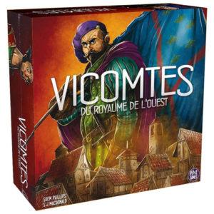Acheter Vicomtes du royaume de l'ouest à Paris chez Robin des Jeux