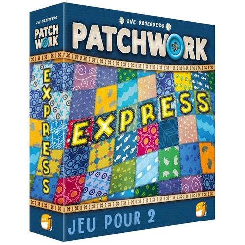 patchwork express à Paris chez Robin des Jeux à Paris