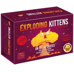 Acheter Explodin kittens edition festive à Paris chez Robin des Jeux