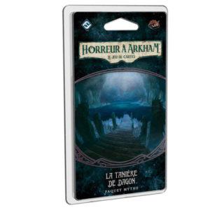 Horreur à Arkham JCE La tanière du dragons à Paris chez Robin des Jeux
