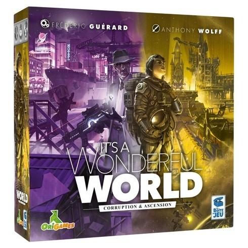 Acheter IT'S A WONDERFUL WORLD - CORRUPTION & ASCENSION à Paris chez Robin des Jeux
