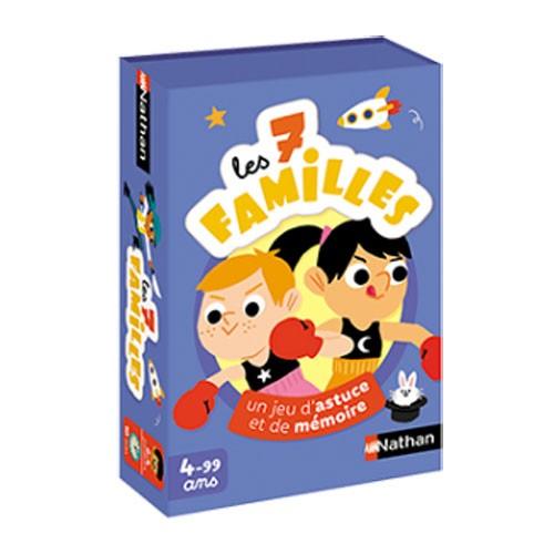 Les 7 familles à Paris chez Robin des Jeux