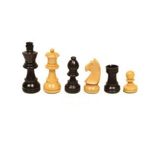 Pièces échecs n°3 buis ebonisées à Paris chez Robin des Jeux