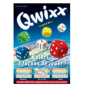 qwixx-mix à Paris chez Robin des Jeux