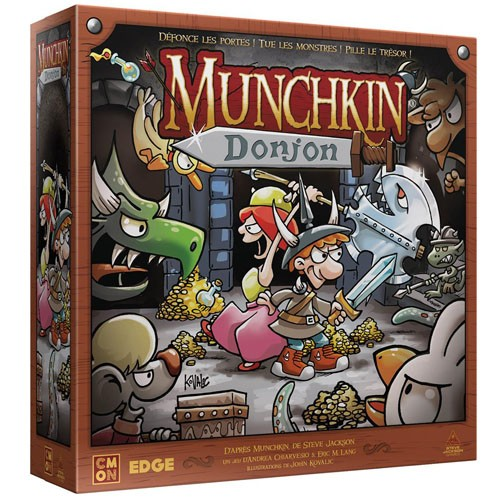 Munchkin Donjon à Paris chez Robin des jeux