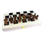 Coffret échecs bois à Paris chez Robin des Jeux