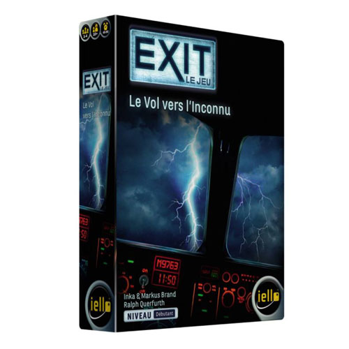 Exit Le vol vers l'inconnu à Paris chez Robin des Jeux