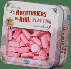 Aventuriers du rail Play pink à Paris chez Robin des Jeux