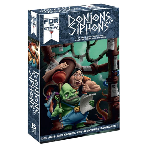 Donjons & siphons à Paris chez Robin des jeux