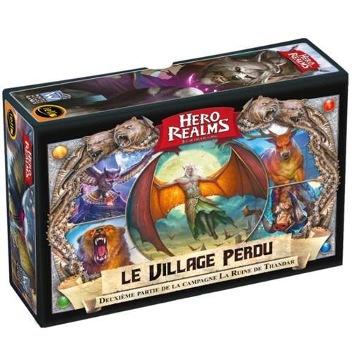 Hero realms le village perdu à Paris chez Robin des Jeux