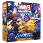 Marvel champion l'ombre du titan fou à Paris chez Robin des Jeux