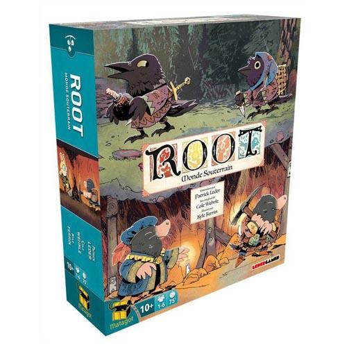 Root Monde souterrain à Paris chez Robin des Jeux