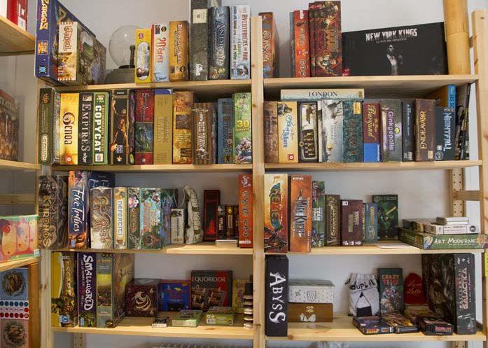 La boutique propose des jeux et des nouveautés toutes les semaines
